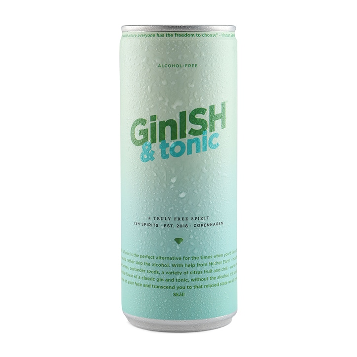 ISH Spirits Ginish & Tonic 250ml