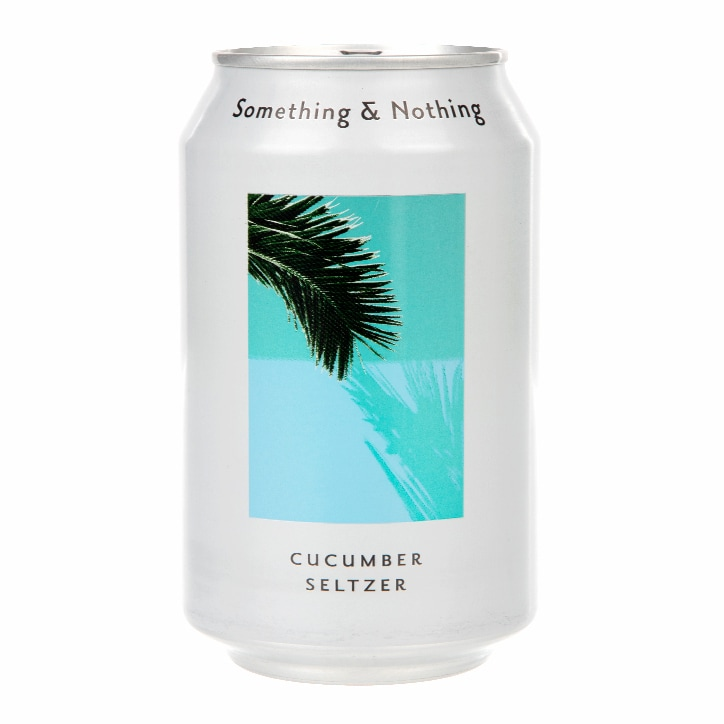 Something & Nothing Cucumber Seltzer 330ml