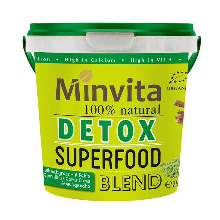 Minvita Detox Superfood Blend