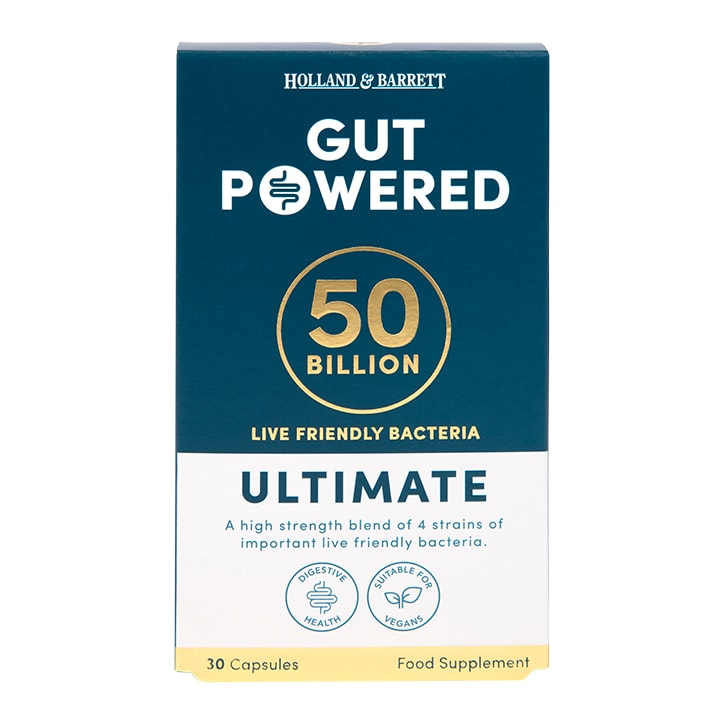 Holland & Barrett Gut Powered Ultimate 50-Billion Capsules