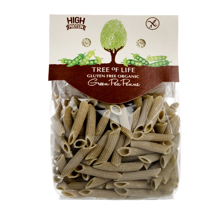 Tree of Life Organic Green Pea Penne 250g