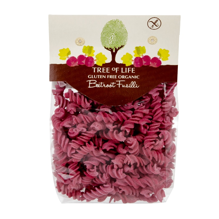 Tree of Life Organic Beetroot Fusilli