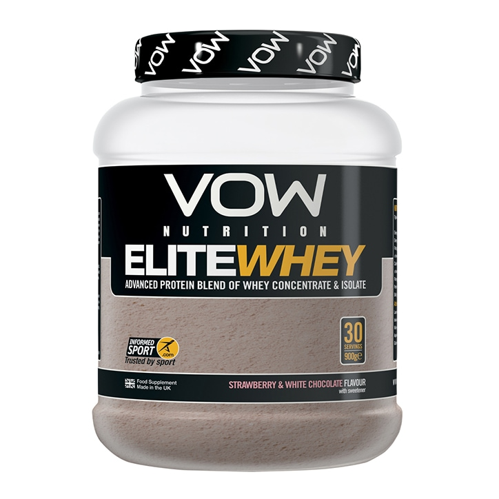 Vow Elite Whey White Chocolate Strawberry