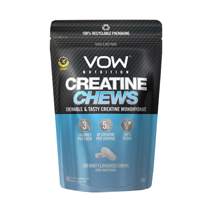 Vow Nutrition Creatine Chews Mint 100 Chews
