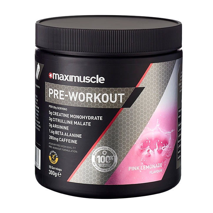 Maxi Pre Workout Pink Lemonade 300g