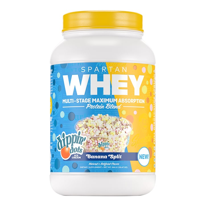 Spartan Nutrition Whey Dippin' Dots Banana Split