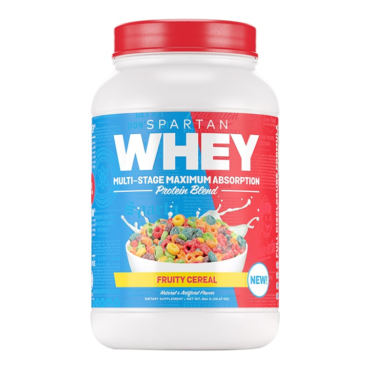 Sparta Nutrition Whey Fruity Cereal 864g