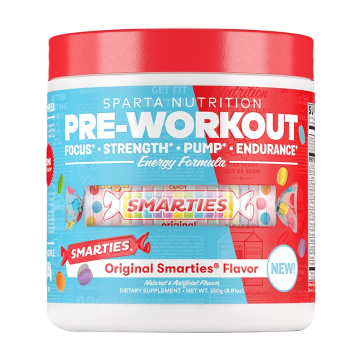 Sparta Nutrition Pre-Workout Smarties 250g
