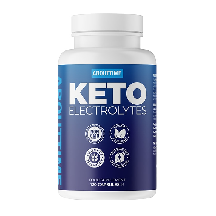 About Time Keto Electrolytes 120 capsules