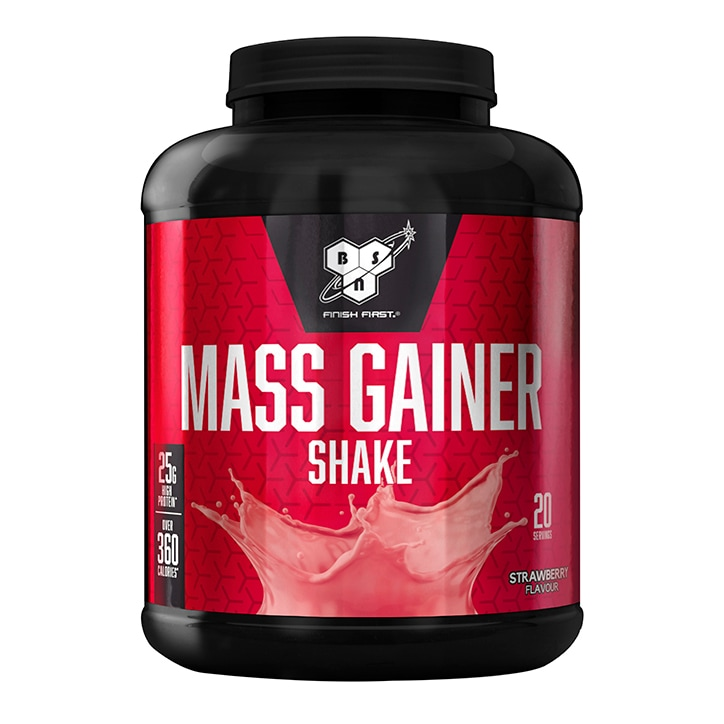 BSN Mass Gainer Shake Strawberry