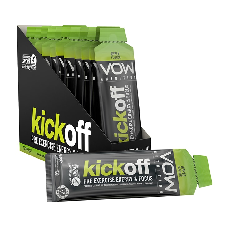 Vow Nutrition Kick Off Gel Apple Box 12 x 60g