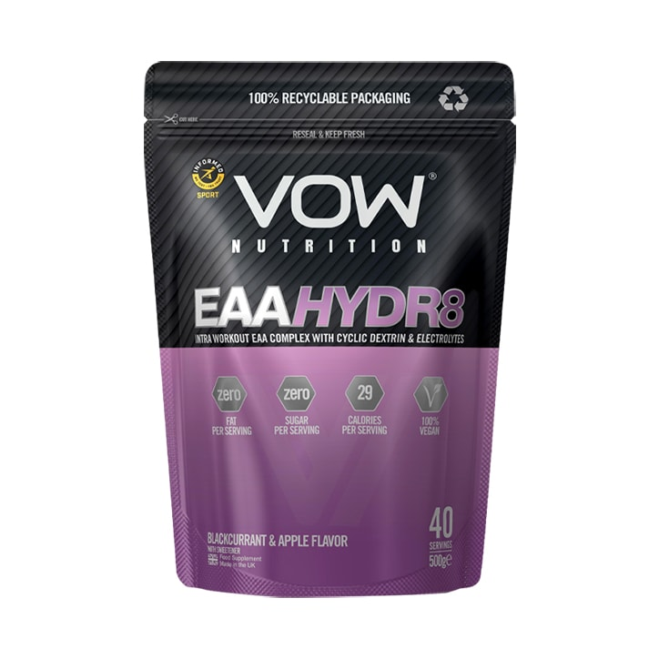 Vow Nutrition EAA Hydr8 Blackcurrant & Apple