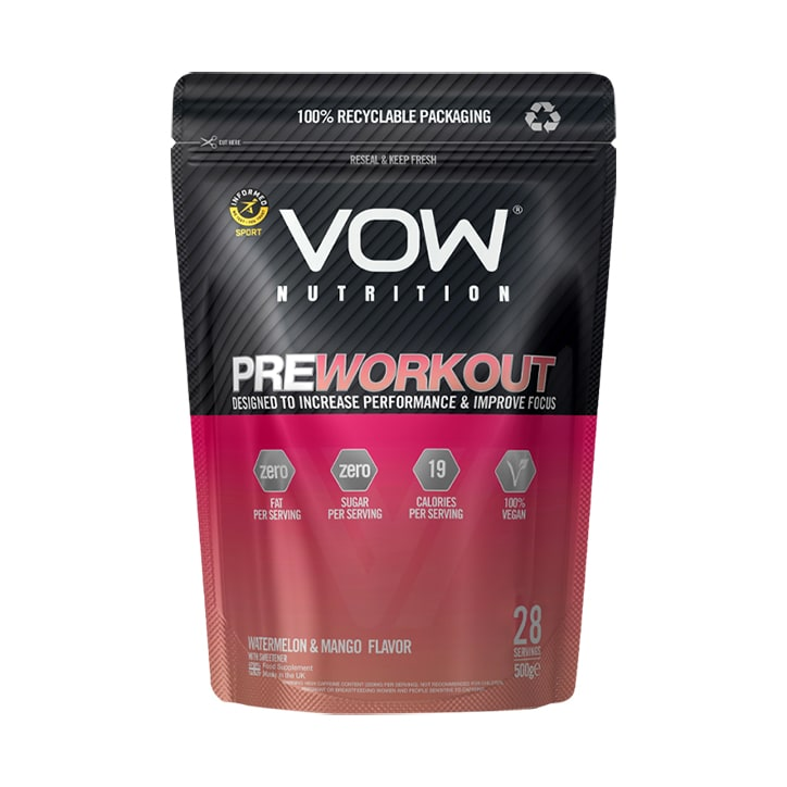 Vow Pre Workout Watermelon & Mango