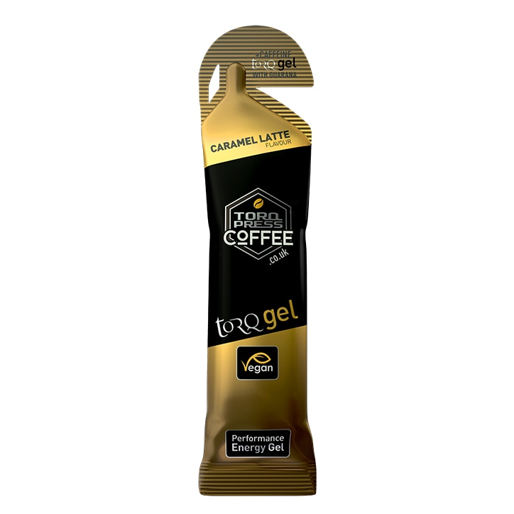 TORQ Energy Gel + Guarana Caramel Latte 45g