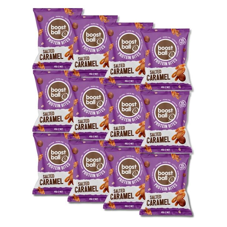 Boost Ball Protein Bites Salted Caramel 12 x 45g