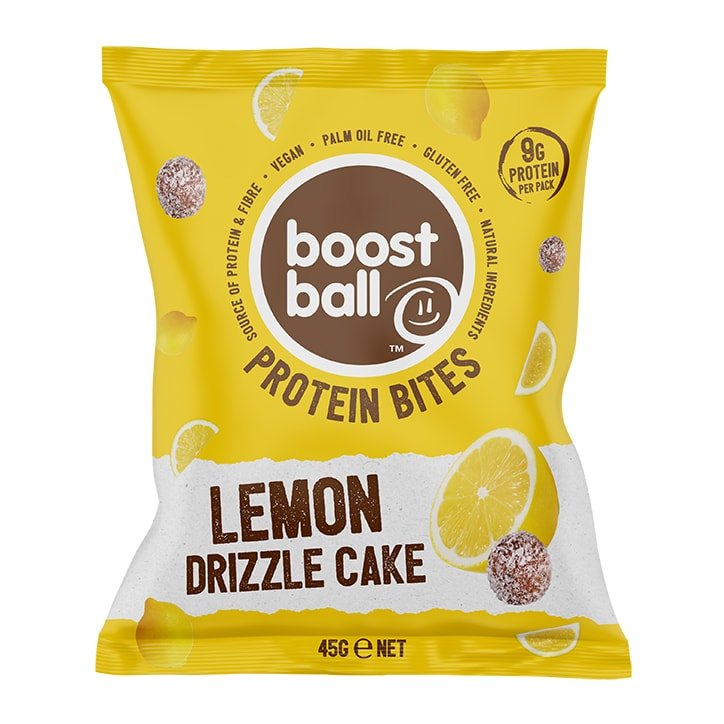 Boost Ball Protein Bites Lemon Drizzle Cake 45g