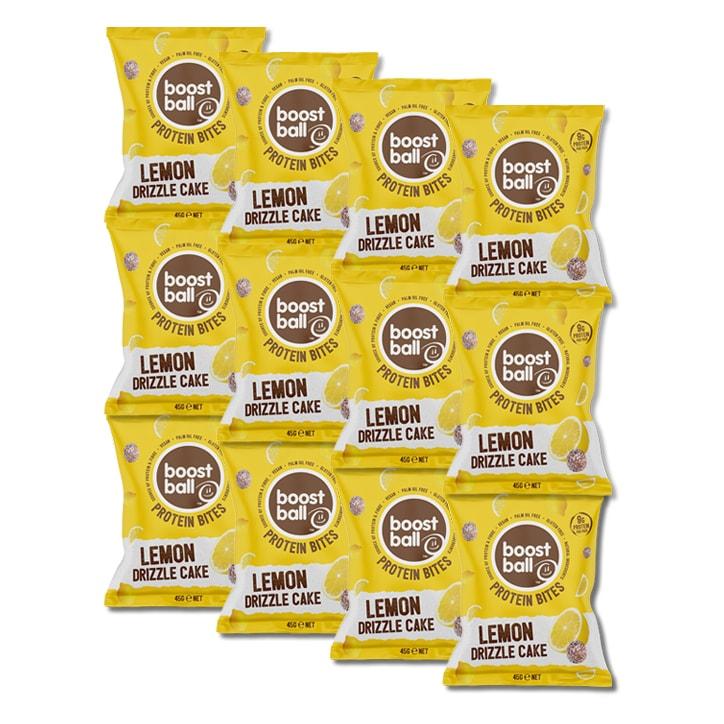 Boost Ball Protein Bites Lemon Drizzle Cake 12 x 45g