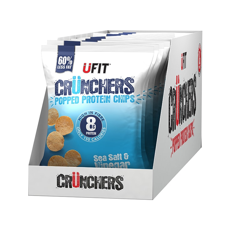 UFIT Crunchers Salt & Vinegar 11 x 35g