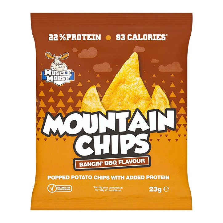 Muscle Moose Protein Crisps BBQ 23g