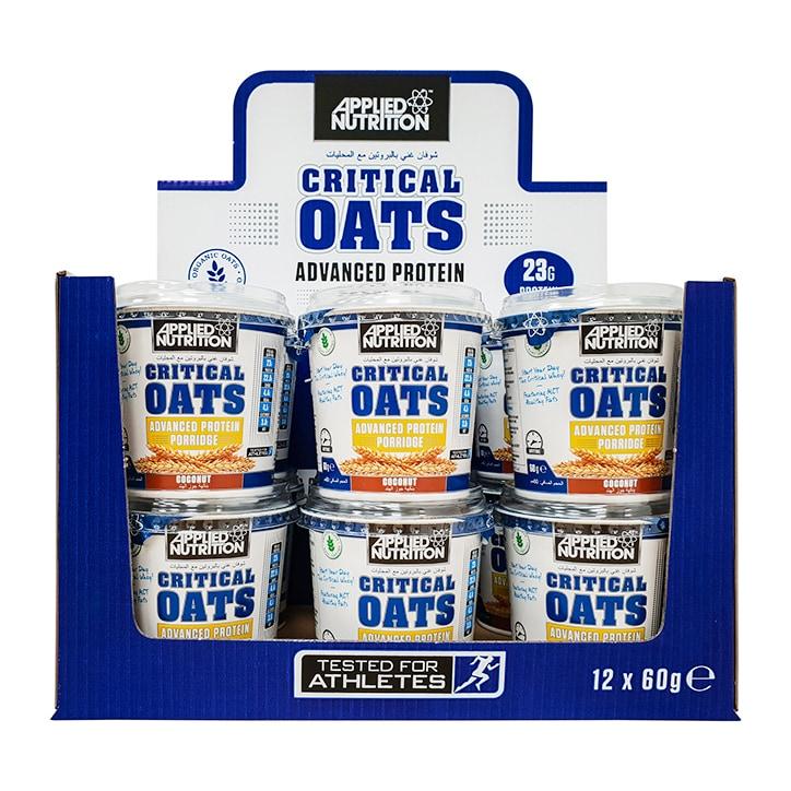 Applied Nutrition Porridge Pot Blueberry Box 12 x 60g