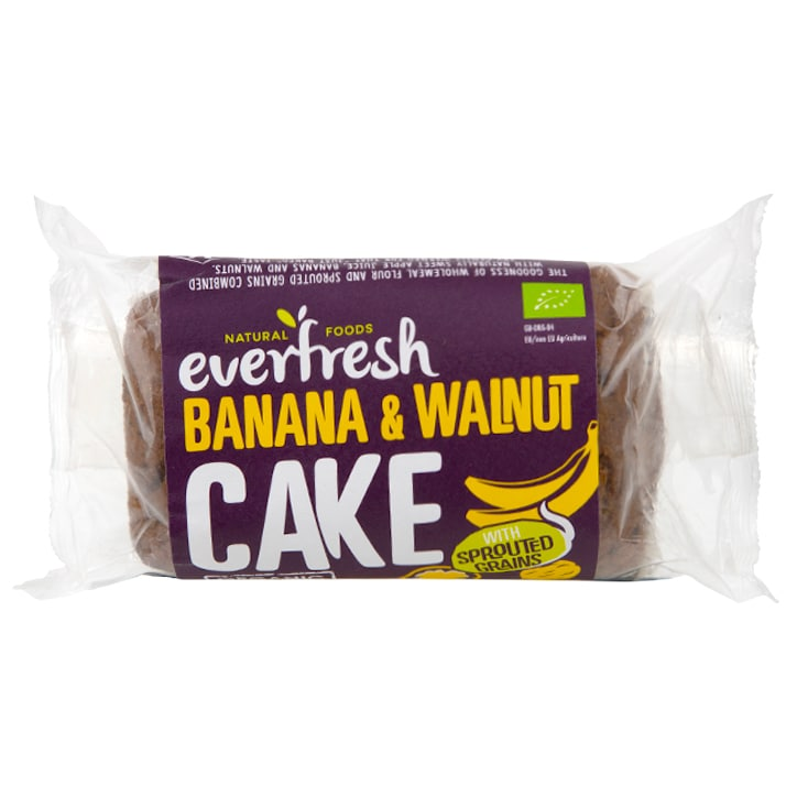 Everfresh Sprouted Banana & Walnut Cake