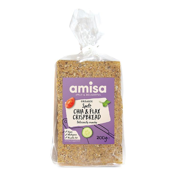 Amisa Spelt Chia & Flax Omega Crispbread 100g