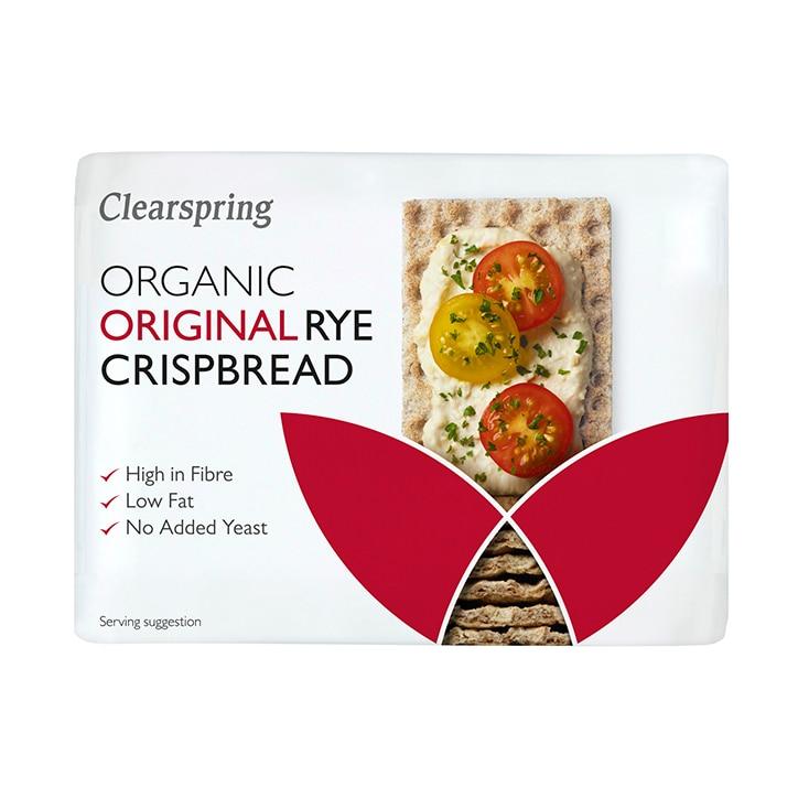 Clearspring Rye Crispbread 200g