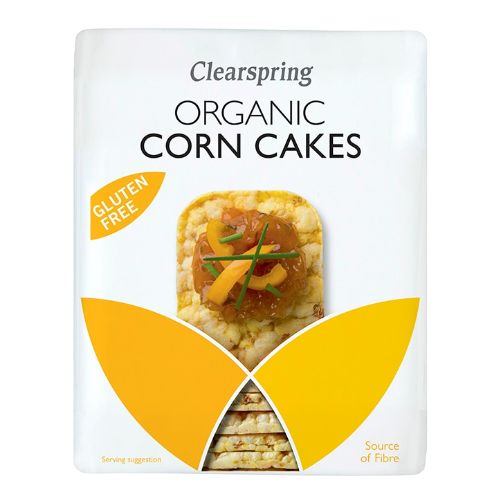 Clearspring Organic Corn Cake Squares 130g