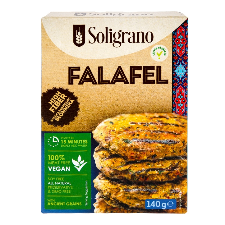 Soligrano Falafel Burger 140g