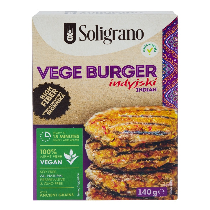 Soligrano Indian Burger