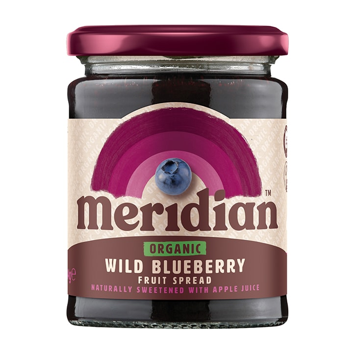 Meridian Organic Wild Blueberry Fruit Spread
