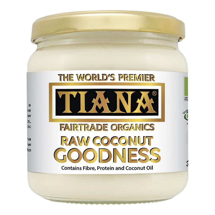TIANA Organic Raw Coconut Goodness