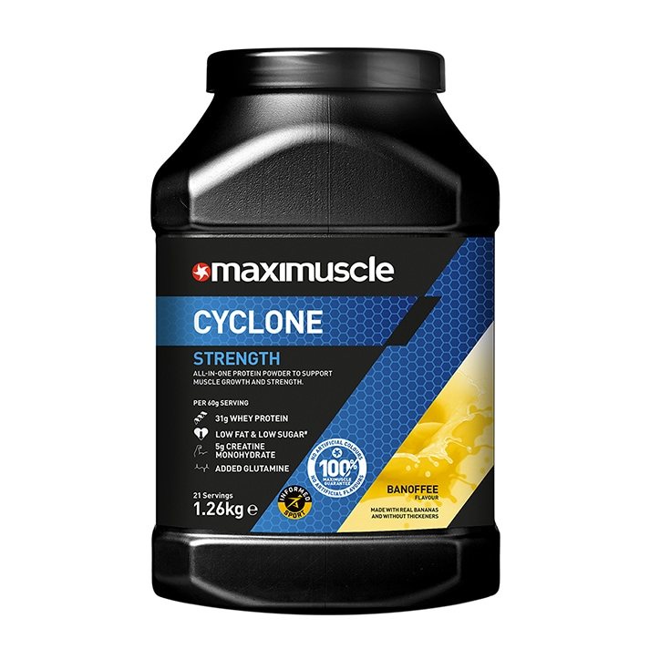 Maximuscle Cyclone Banofee 1260g