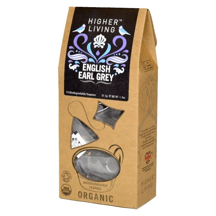 Higher Living Earl Grey 15 Tea Bags