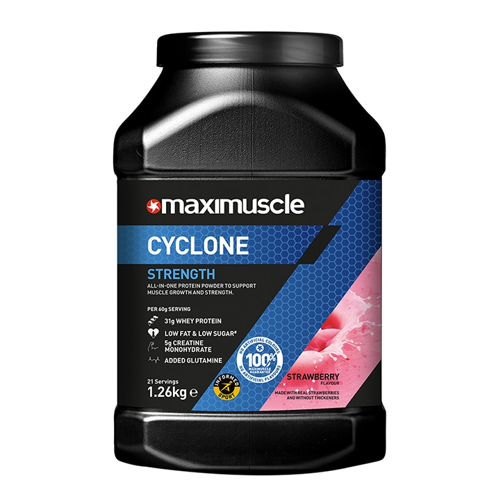 Maximuscle Cyclone Strawberry 1260g