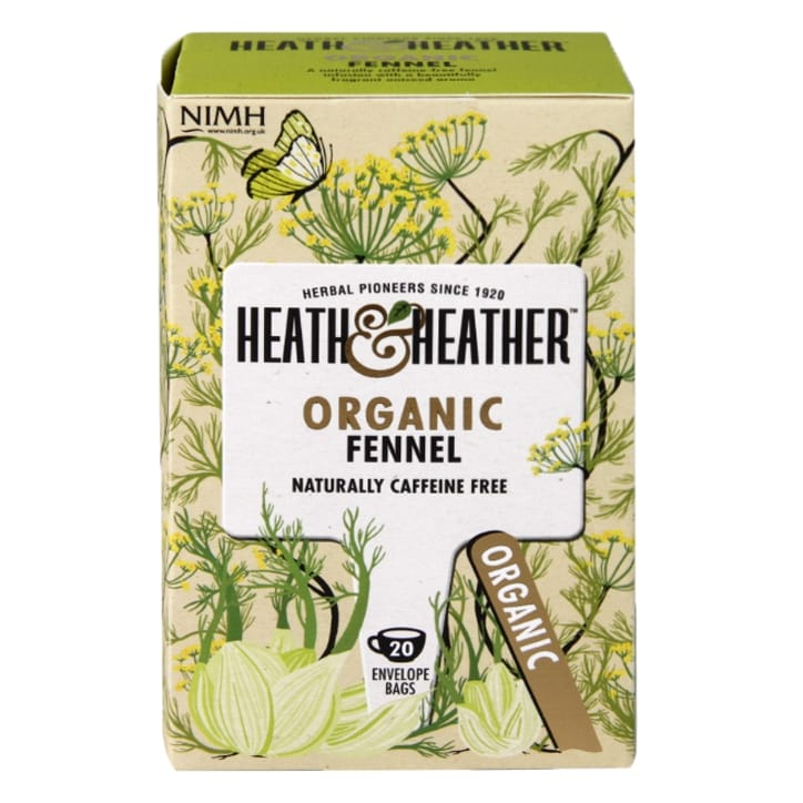 Heath & Heather Organic Fennel Tea 20 Tea Bags
