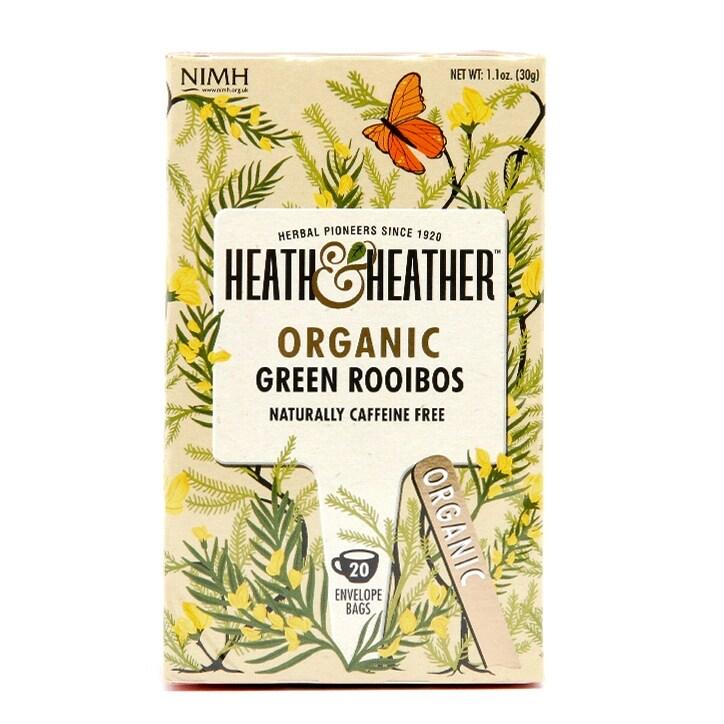 Heath & Heather Organic Green Rooibos