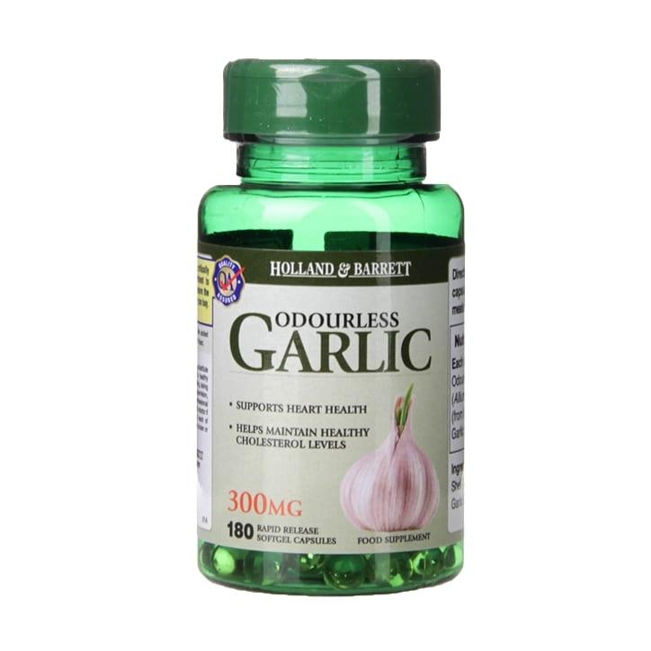 Holland & Barrett Odourless Garlic 300mg 180 Capsules