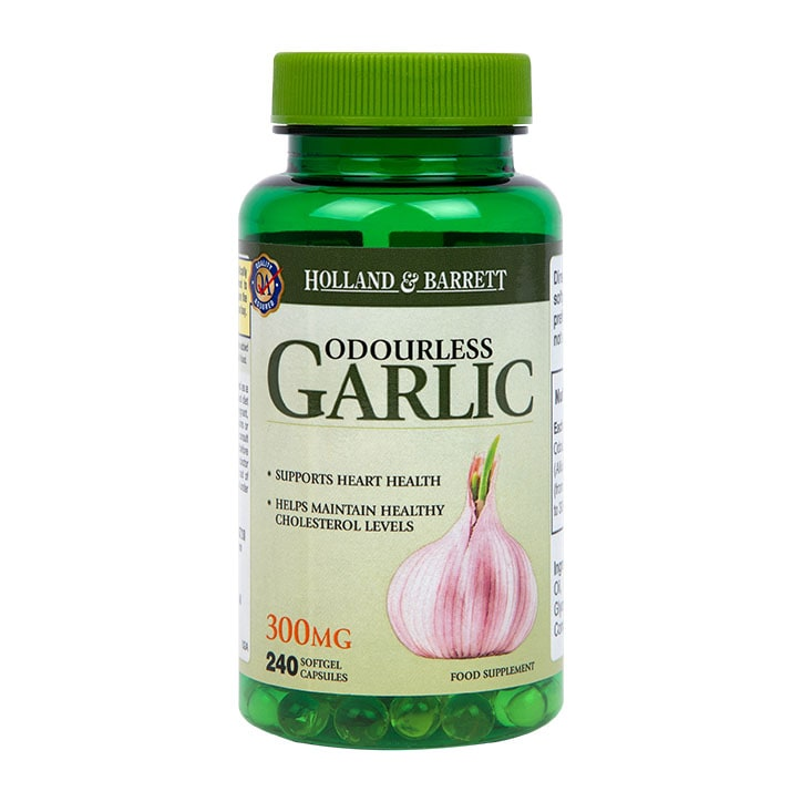 Holland & Barrett Odourless Garlic Capsules 300mg