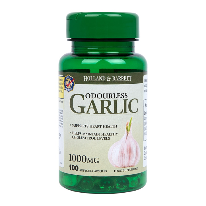 Holland & Barrett Odourless Garlic Capsules 1000mg