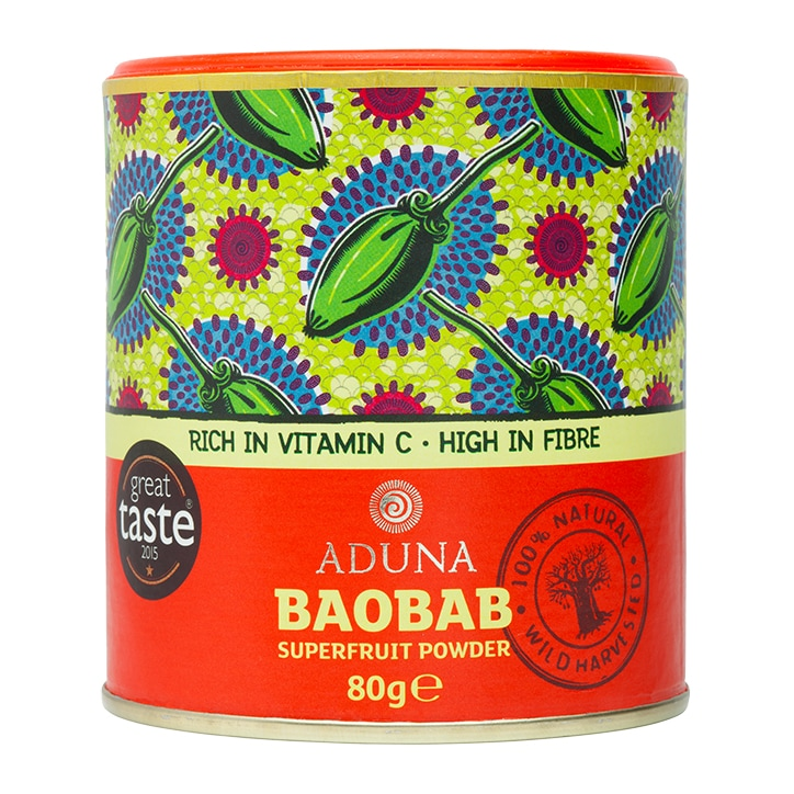Aduna: Baobab Superfruit Powder 80g