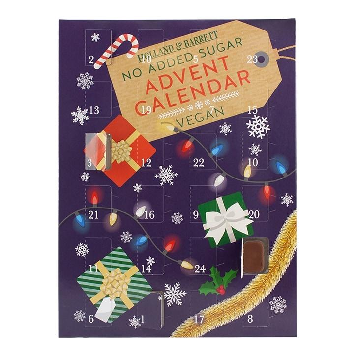 Holland & Barrett No Added Sugar Chocolate Advent Calendar