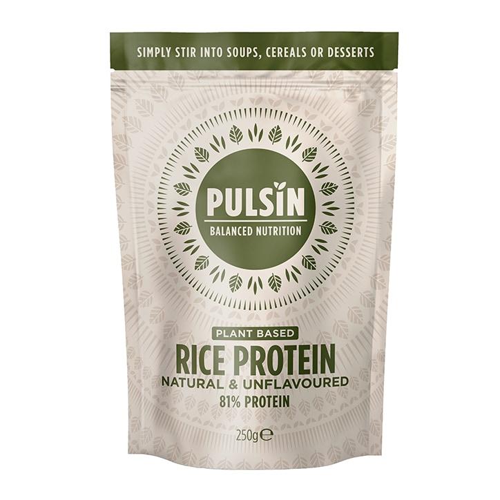 Pulsin Rice Protein Powder 250g