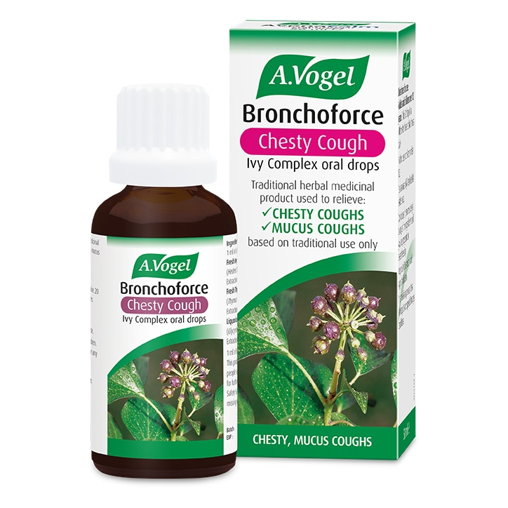 A.Vogel Bronchoforce Chesty Cough Ivy Complex Oral Drops 50ml