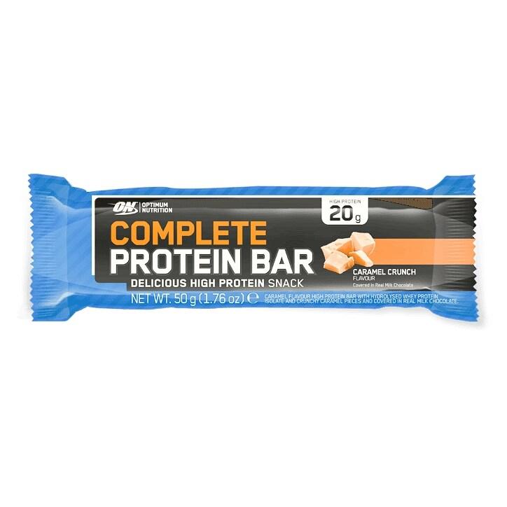 Optimum Nutrition Complete Protein Bar Caramel Crunch