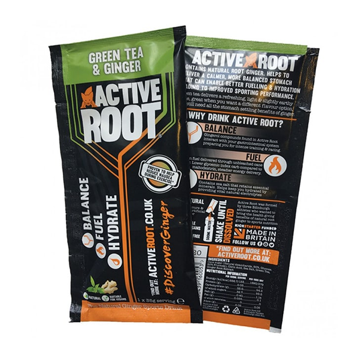 Active Root Hydrate Green Tea & Ginger Sachet 35g