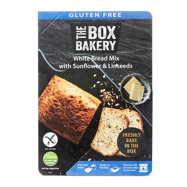 The Box Bakery Gluten Free White Bread Mix 300g