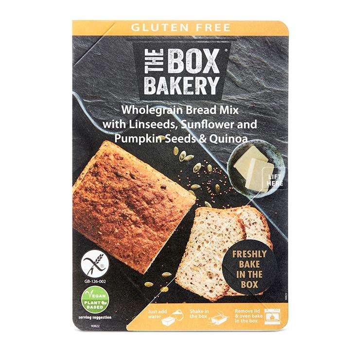 The Box Bakery Gluten Free Wholegrain Bread Mix 300g