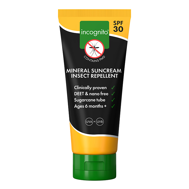 Incognito Mineral Suncream Insect Repellent SPF30