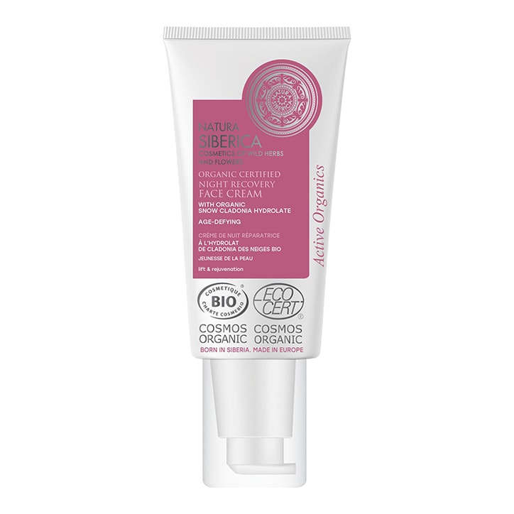 Natura Siberica Age-Defying Night Recovery Face Cream